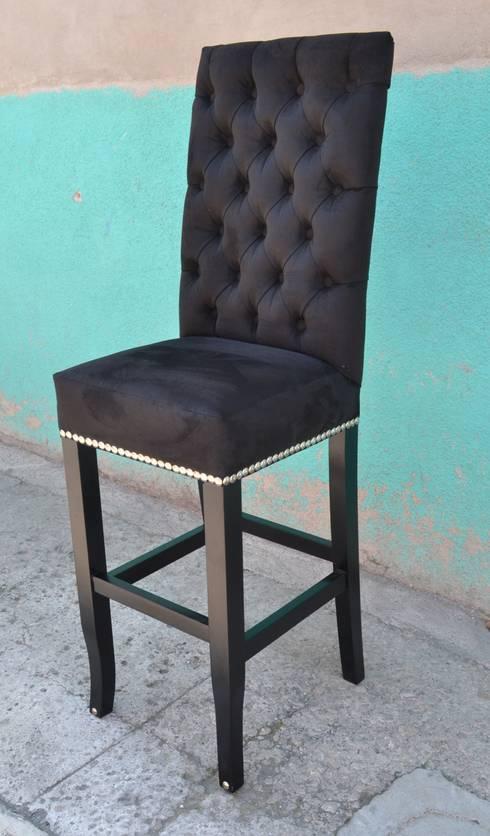 silla para cantina: Comedor de estilo  por fabrica de ideas