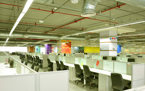 workstations - Phase II.:   by Horizon Design Studio Pvt Ltd