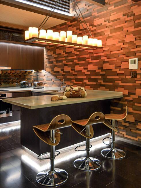 modern Kitchen by Design Intervention