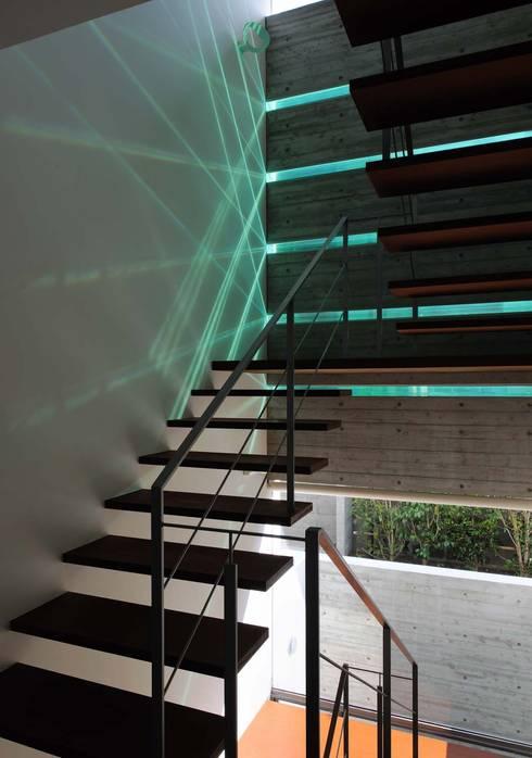 KaleidoscopeⅡ: 澤村昌彦建築設計事務所が手掛けた廊下 & 玄関です。