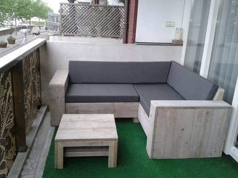 Lounge Ecksofa Berlin aus Bauholz von Exklusiv Dutch Design | homify