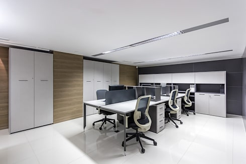 Design Group Latinamerica – MAT: Oficinas y Tiendas de estilo  por Design Group Latinamerica