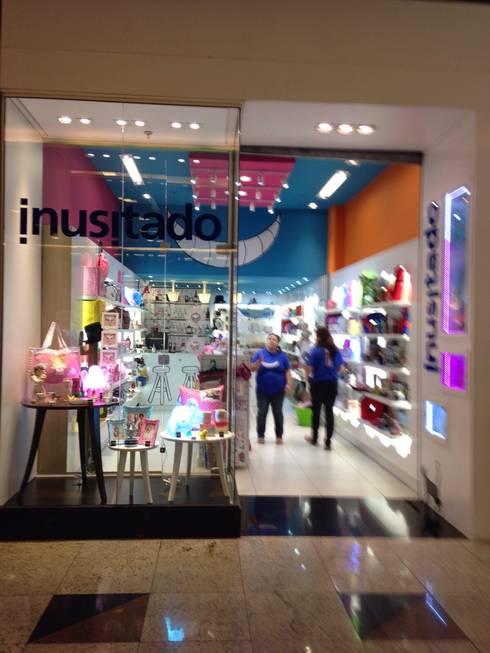 Inusitado: Lojas e imóveis comerciais  por ANALU ANDRADE - ARQUITETURA E DESIGN
