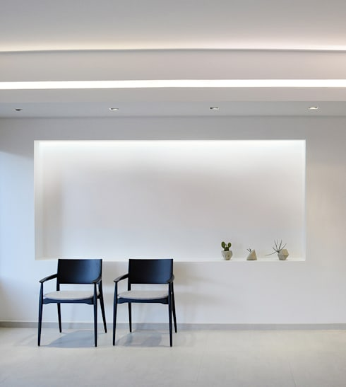 Oceania: Salas / recibidores de estilo  por Design Group Latinamerica