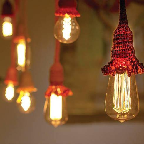 Lampadas: Arte  por Arquitetura da Luz Iluminação