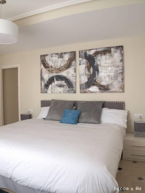 Projekty,  Sypialnia zaprojektowane przez Decor&Me