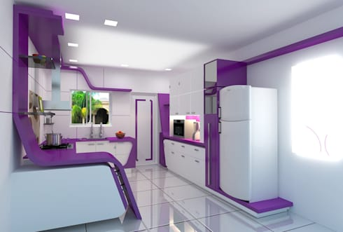 Residential project: modern Kitchen by ARY Studios