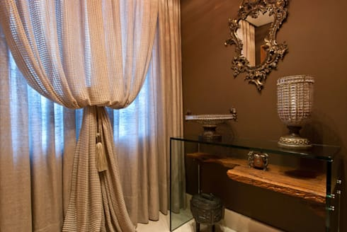 Projetos Residenciais: Salas de estar modernas por Priscila Gabrielly Designer de Interiores