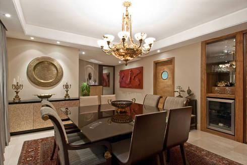Projetos Residenciais: Salas de jantar modernas por Priscila Gabrielly Designer de Interiores