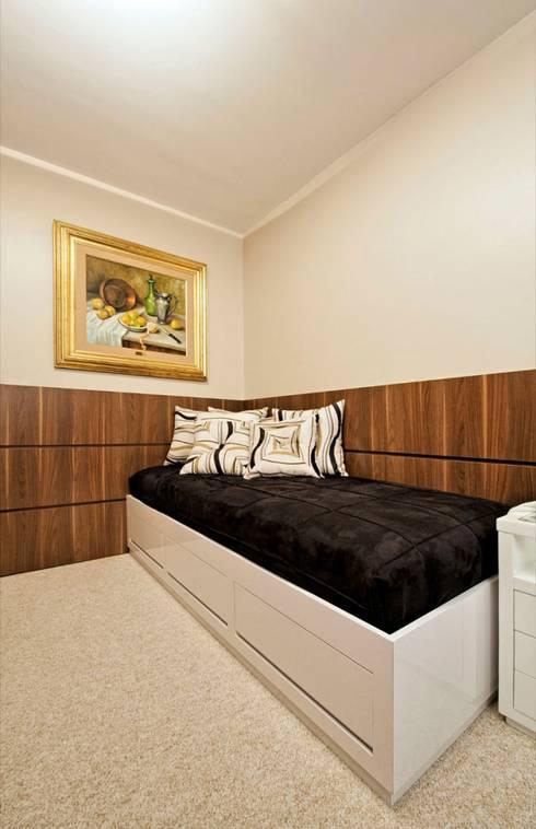 Projetos Residenciais: Quartos  por Priscila Gabrielly Designer de Interiores
