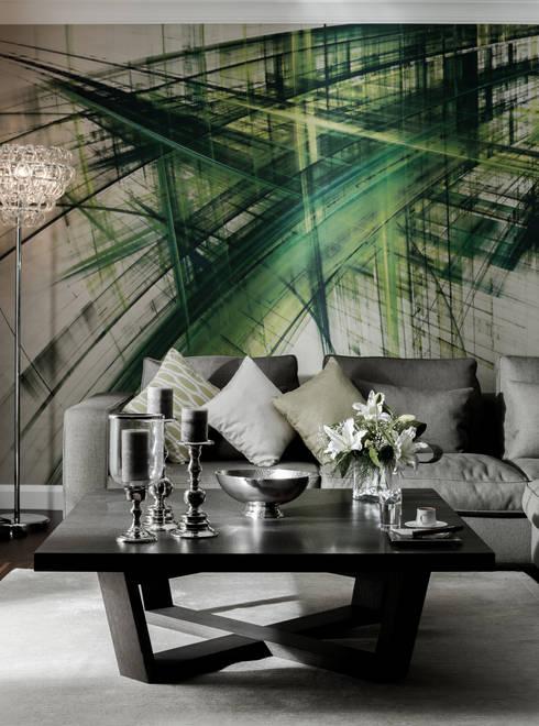 Treso İç Mimarlık – R.K. Konutu:  tarz Oturma Odası