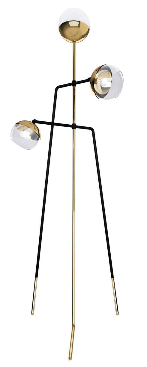 CREATIVEMARY lamps: Casa  por LUZZA by AIPI - Portuguese Lighting Association
