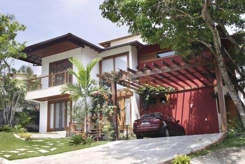 RESIDÊNCIA  AP: Casas campestres por a4 arquitetos