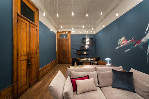 CASAPORTO'15: Salas de estar ecléticas por Terracal