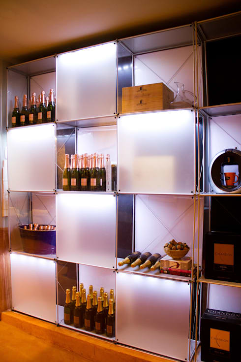 AMMA PROJETOS의  와인 보관