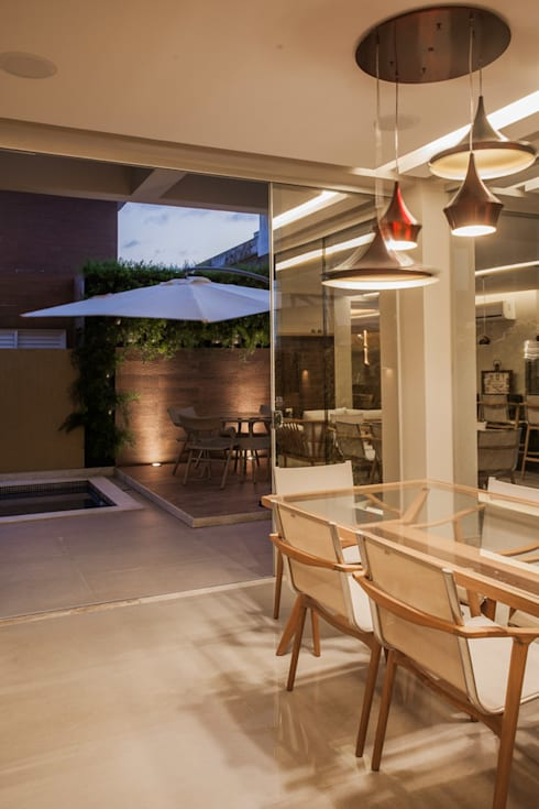 Projeto: Terraços  por Heloisa Titan Arquitetura