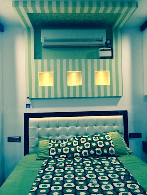Interior Projects: modern Bedroom by Enliven Architectural Solutions