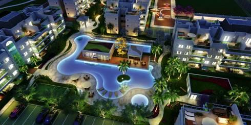 projeto: Casas modernas por Domus Arquitetura e Construção
