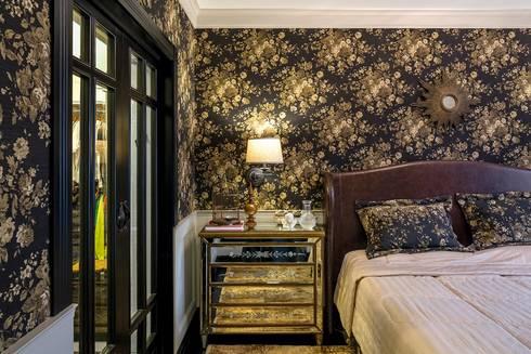 Suite Master: Quartos  por Piloni Arquitetura