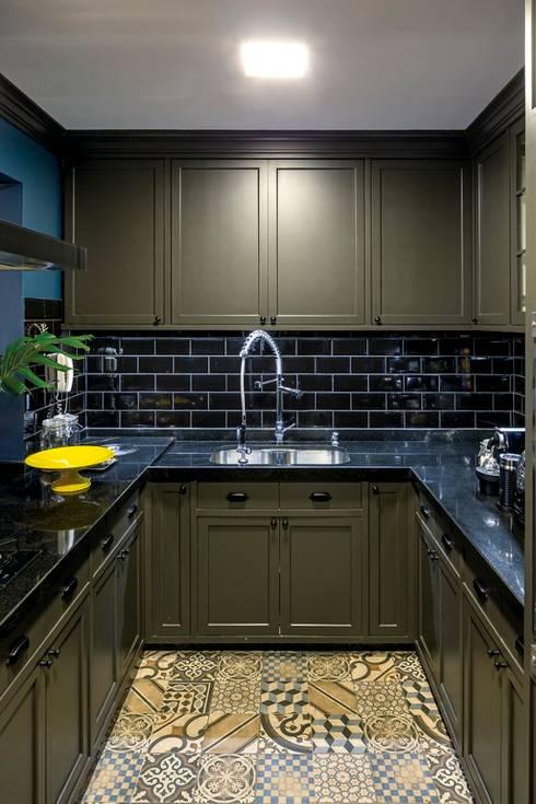 مطبخ تنفيذ Piloni Arquitetura