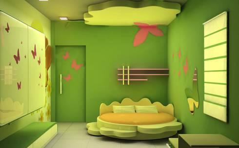 Kids room Designs: modern Nursery/kid's room by ES Designs