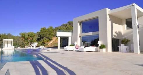 Villa ibiza by ibiza house renting homify - Ibiza house renting ...