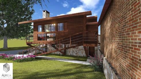 projetos: Casas modernas por Áurea Arquitetura e Design
