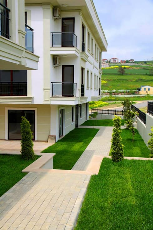 NGY Mimarlık – büyükçekmece ponte grande evleri - dekorasyon projeleri çizimi ve uygulama danışmanlığı:  tarz Evler