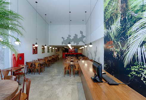 Jardim Gourmet: Espaços gastronômicos  por Piacesi Arquitetos