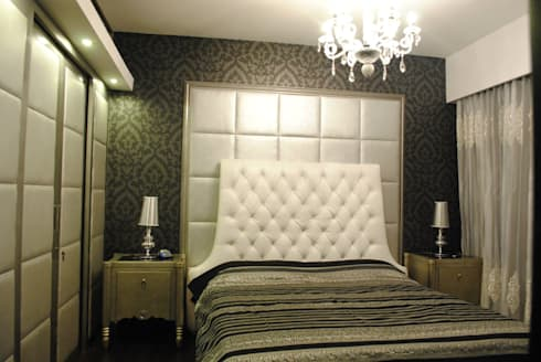 Pebble bay.: modern Bedroom by Construction Associates
