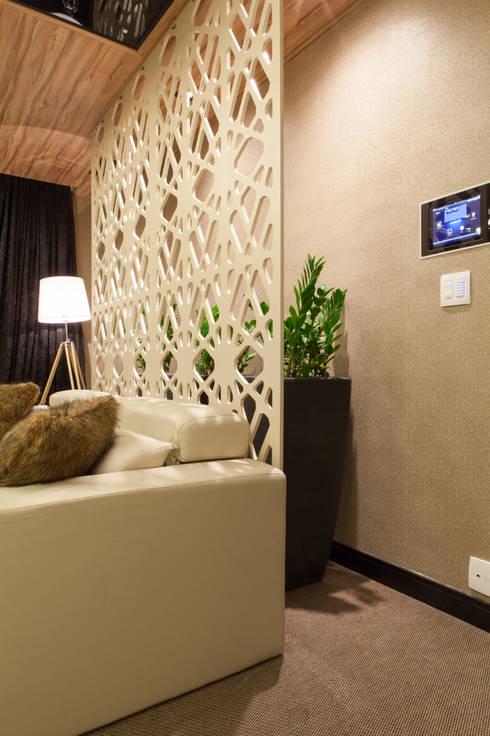 Mostra Núcleo A+D: Salas multimídia modernas por Vanessa De Mani