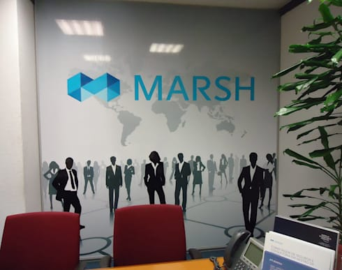 Office Restyle – MARSH:   por CASADART.PT