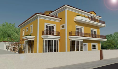 Moradia S.:   por MSArquitectura