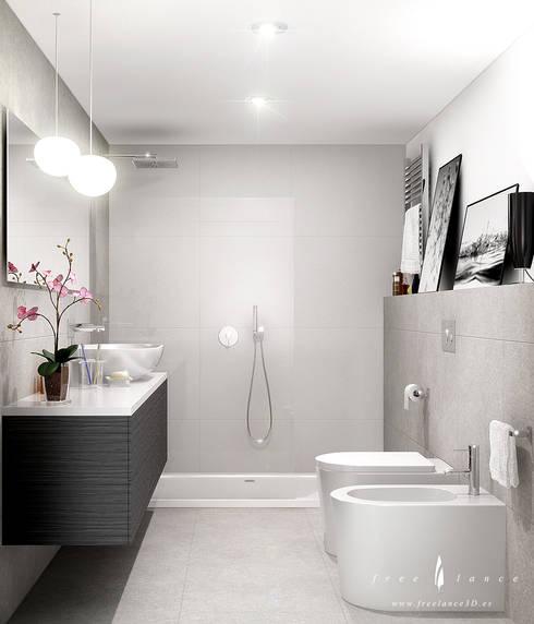 Baños de estilo  por Freelance3d