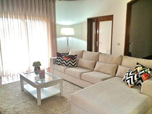 Sala de estar: Sala de estar  por Alma Braguesa Furniture