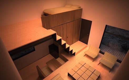 Abrigo de Montanha : Casas minimalistas por Nuno Neto - Arquitectura