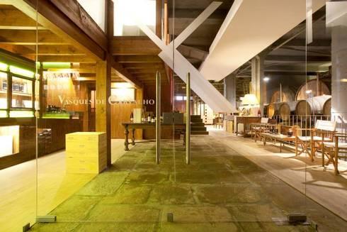 """""""Eno Arquitetura"""" - """"Wine Architecture"""":   por Barracinza - Estudos e Projetos de Arquitetura"""