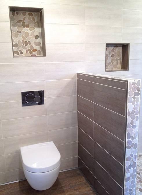 RG Intérieur: rustik tarz tarz Banyo