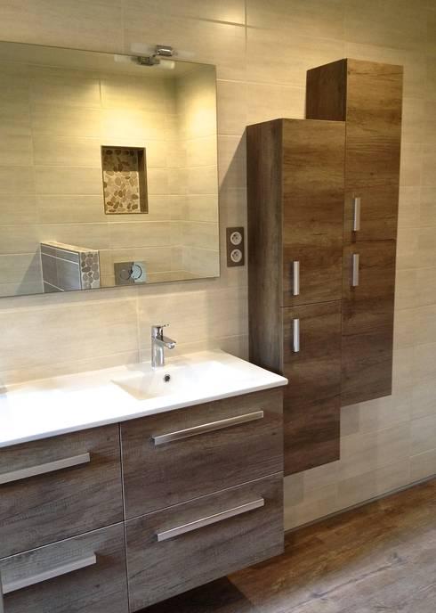 Bathroom by RG Intérieur