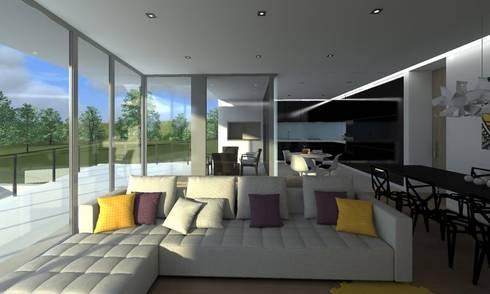 Casa PP:   por Luis Flório arquitecto . lda