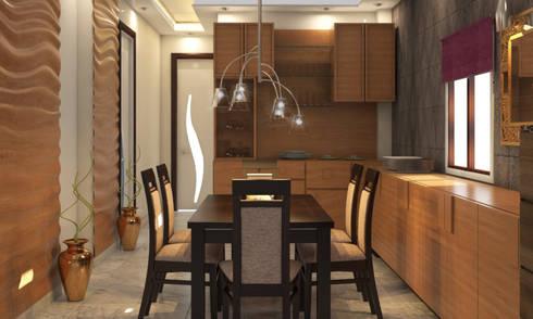 Dining Room Designs: modern Dining room by design56