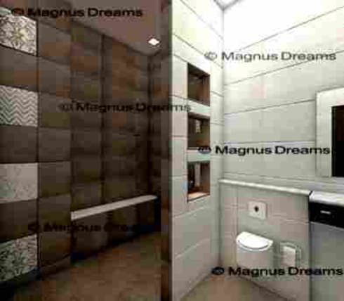 Bathroom Designs: modern Bathroom by Magnus Dreams