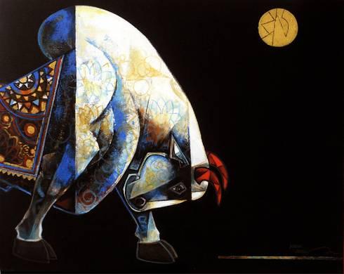 Celebration 1:  Artwork by Indian Art Ideas
