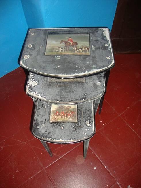 Conjunto de mesas ninho:   por House Repair2015
