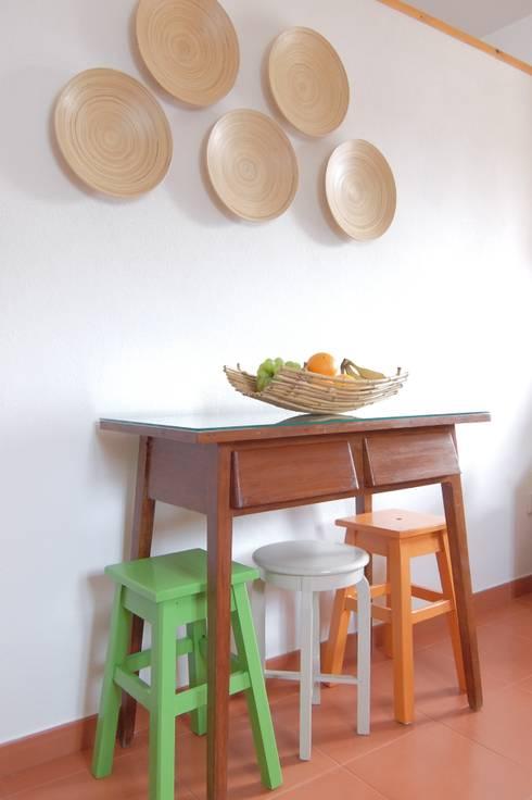 ANTIGO GRÉMIO – HOLIDAY HOUSE: Cozinhas campestres por maria inês home style