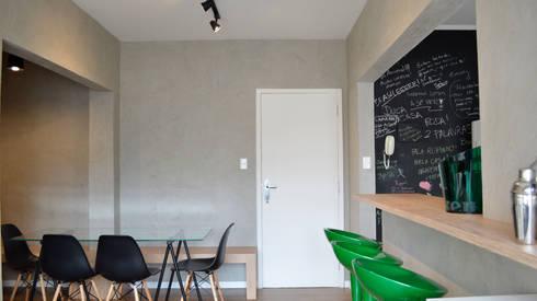 Reforma – Rua Paula Ney.: Salas de jantar modernas por MEM Arquitetura