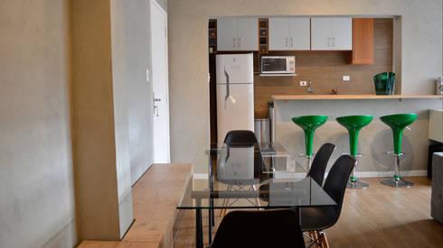Reforma – Rua Paula Ney.: Salas de estar modernas por MEM Arquitetura