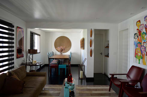 Reforma – Rua Jupter: Salas de jantar ecléticas por MEM Arquitetura