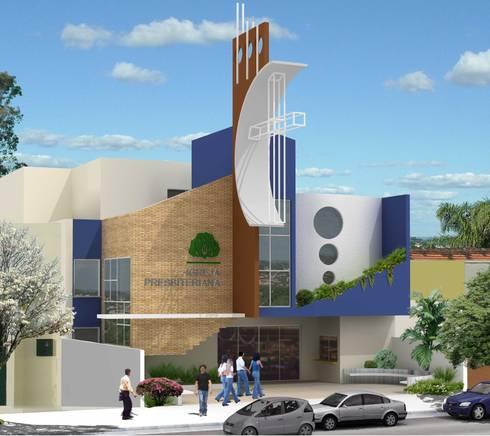 Igreja Presbiteriana Telêmaco Borba - PR:   por shileon Arquitetura