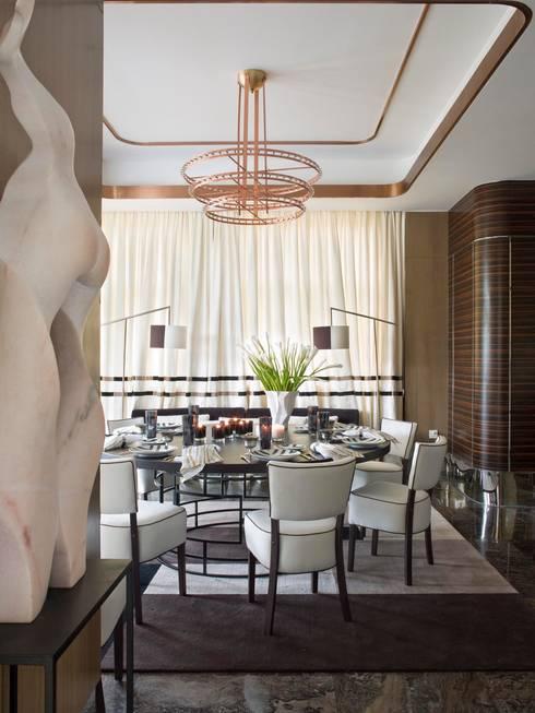 ORIENT EXPRESS: Salas de jantar  por SA&V - SAARANHA&VASCONCELOS